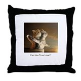 Titanic Cats Throw Pillow