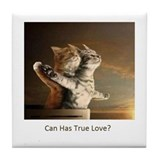 Titanic Cats Tile Coaster