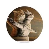 "Titanic Cats 3.5"" Button"