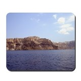 Santorini Mountain Mousepad