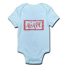 AGAPE GOD'S LOVE Infant Bodysuit