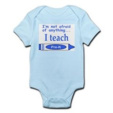 ITeachPreKBlue.png Infant Bodysuit