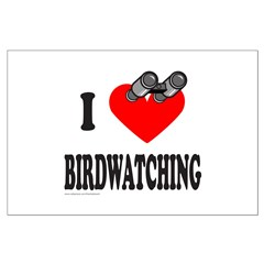 I HEART BIRDWATCHING Posters