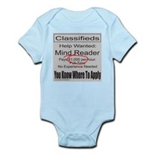 MIND READER Infant Bodysuit