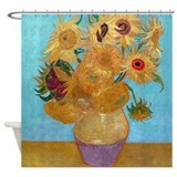 Van Gogh - Sunflowers Shower Curtain