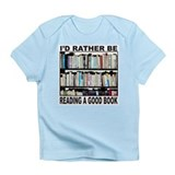 BOOK LOVER Infant T-Shirt