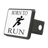 BORN TO RUN Rectangular Hitch Cover