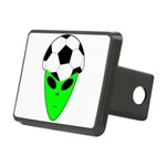 ALIEN SOCCER HEAD Rectangular Hitch Cover