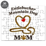 Funny Entlebucher mountain dog Puzzle