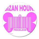 IBIZAN HOUND PRICELESS Round Car Magnet