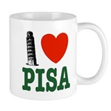 I Love Pisa Small Mug