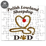 Cute Polish lowland sheepdog Puzzle