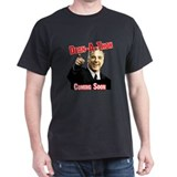 """Howard Dean for President"" Black T-Shirt"