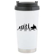 Snowmobile Ceramic Travel Mug