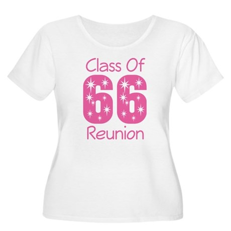 Class of 1966 Reunion Women's Plus Size Scoop Neck