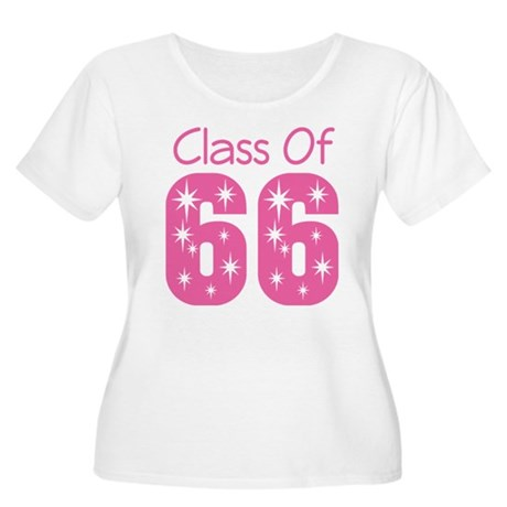 Class of 1966 Women's Plus Size Scoop Neck T-Shirt