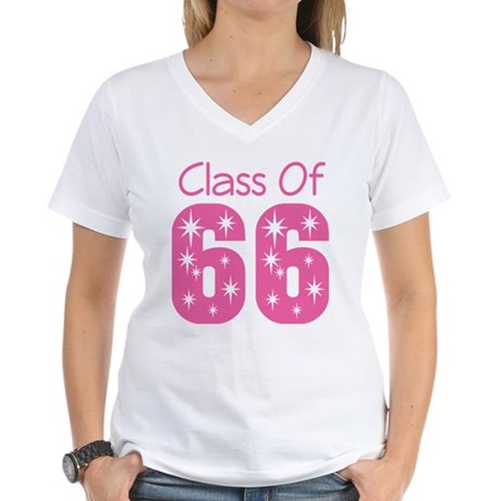 Class of 1966 Women's V-Neck T-Shirt