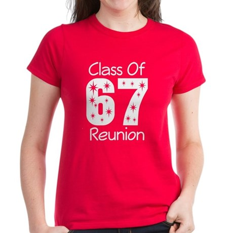 Class of 1967 Reunion Women's Dark T-Shirt