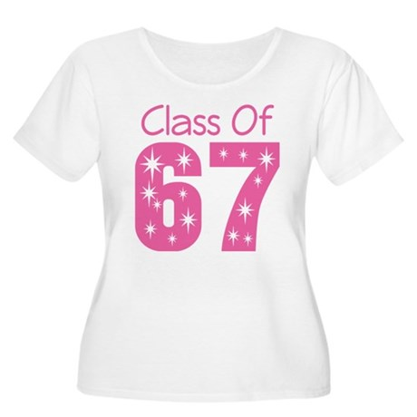 Class of 1967 Women's Plus Size Scoop Neck T-Shirt