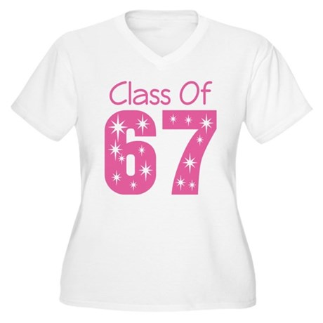 Class of 1967 Women's Plus Size V-Neck T-Shirt