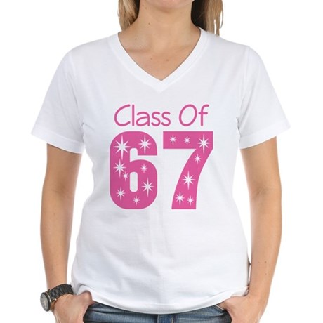 Class of 1967 Women's V-Neck T-Shirt