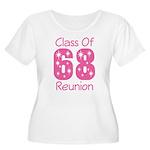 Class of 1968 Reunion Women's Plus Size Scoop Neck