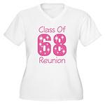 Class of 1968 Reunion Women's Plus Size V-Neck T-S