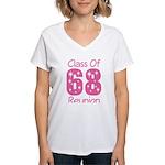 Class of 1968 Reunion Women's V-Neck T-Shirt