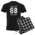 Class of 1968 Reunion Men's Dark Pajamas