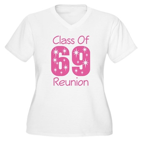 Class of 1969 Reunion Women's Plus Size V-Neck T-S