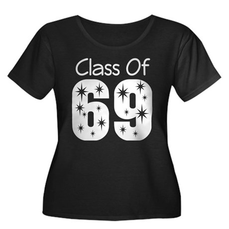 Class of 1969 Women's Plus Size Scoop Neck Dark T-