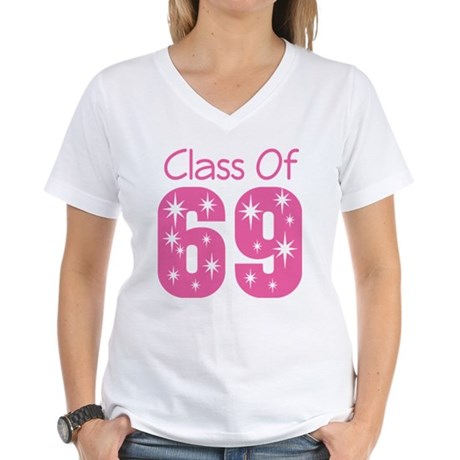 Class of 1969 Women's V-Neck T-Shirt
