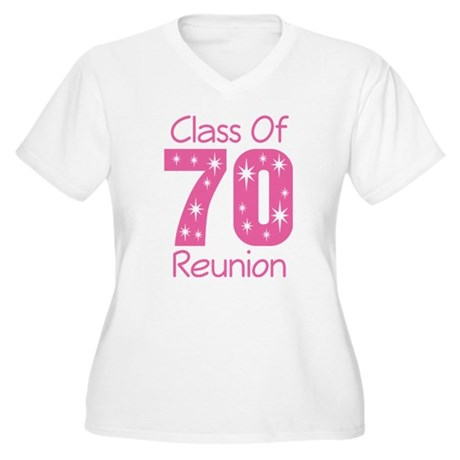 Class of 1970 Reunion Women's Plus Size V-Neck T-S
