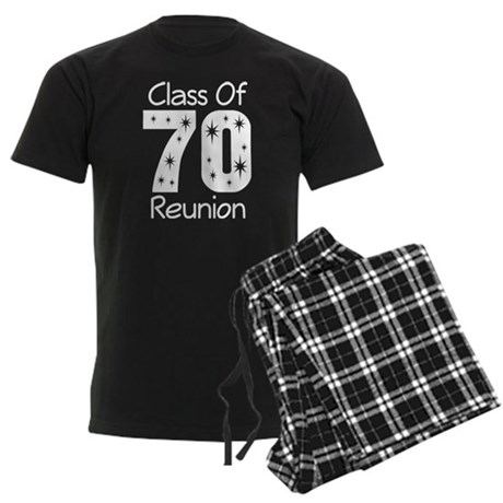Class of 1970 Reunion Men's Dark Pajamas