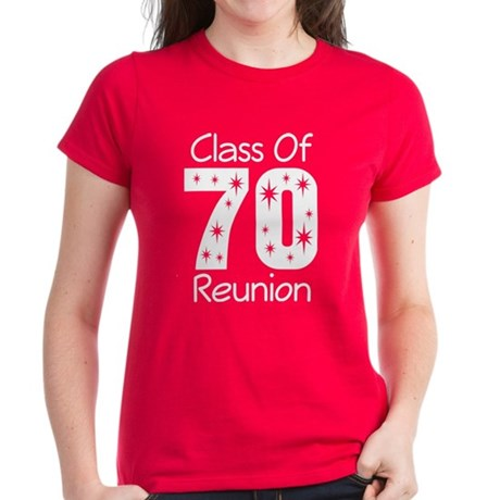 Class of 1970 Reunion Women's Dark T-Shirt