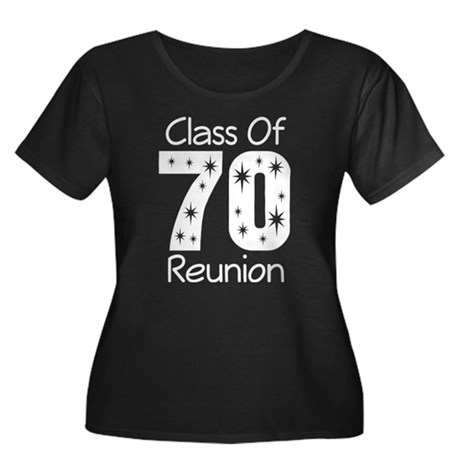 Class of 1970 Reunion Women's Plus Size Scoop Neck