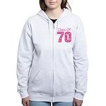 Class of 1970 Women's Zip Hoodie