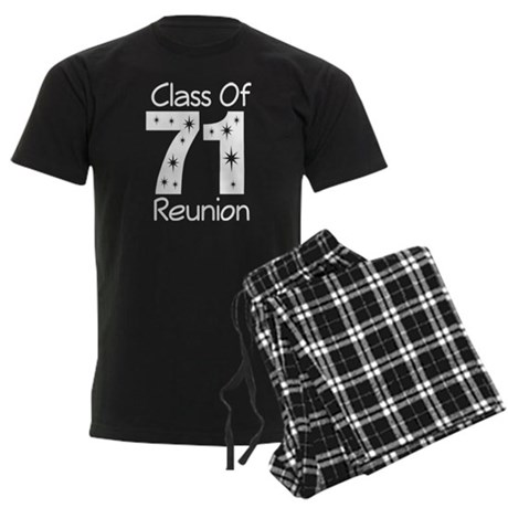 Class of 1971 Reunion Men's Dark Pajamas