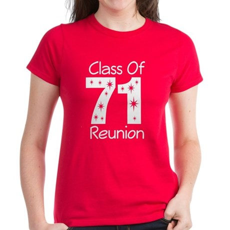 Class of 1971 Reunion Women's Dark T-Shirt