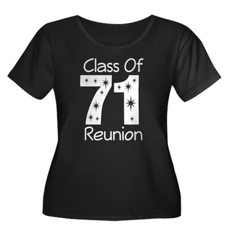 Class of 1971 Reunion Women's Plus Size Scoop Neck
