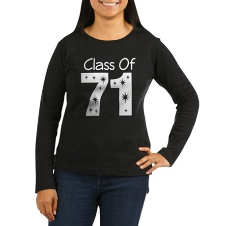 Class of 1971 Women's Long Sleeve Dark T-Shirt