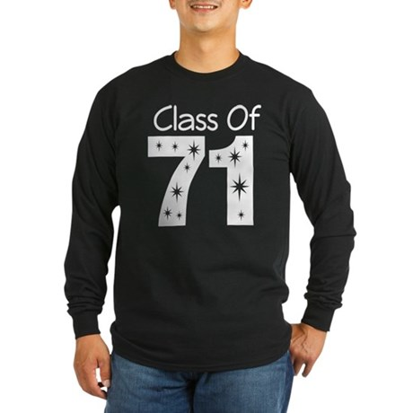 Class of 1971 Long Sleeve Dark T-Shirt