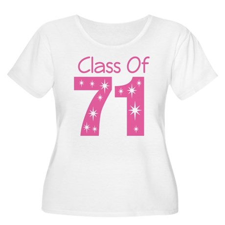 Class of 1971 Women's Plus Size Scoop Neck T-Shirt