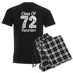 Class of 1972 Reunion Men's Dark Pajamas