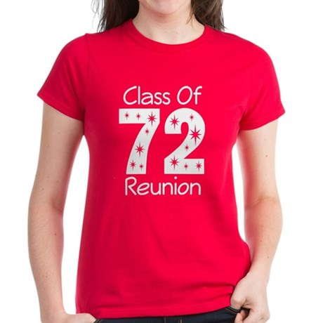 Class of 1972 Reunion Women's Dark T-Shirt