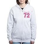 Class of 1972 Women's Zip Hoodie