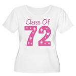 Class of 1972 Women's Plus Size Scoop Neck T-Shirt