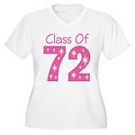 Class of 1972 Women's Plus Size V-Neck T-Shirt