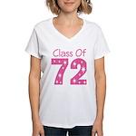 Class of 1972 Women's V-Neck T-Shirt