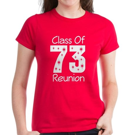 Class of 1973 Reunion Women's Dark T-Shirt